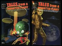 Tales from a Forgotten Planet Trade Paperback TPB Set 1-2 Sci-Fi Anthology NEW