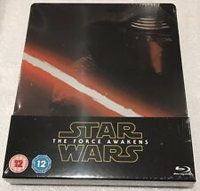 Star Wars: The Force Awakens Steelbook - UK Exclusive Limited Edition Blu-Ray