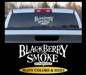 BLACKBERRY SMOKE BAND Decal Window Vinyl Self Adhesive Bumper Sticker