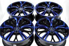 17 blue Wheels Fusion Cobalt SS HHR Malibu Chrysler 200 Dart G6 5X108 5X110 Rims