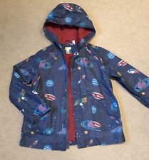 Monsoon Summer Jacket, 6-8y, Space rockets, Showerproof- Excellent Condition!