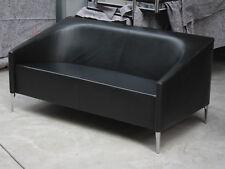 "Artifort ""Seven"" Designercouch in Leder,  Elmosoft, Sofa, Couch, Neupreis ~4200€"