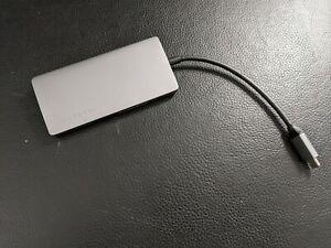 Satechi Aluminum Multi-Port Adapter V2 - 4K HDMI (60Hz), Gigabit Space Grey