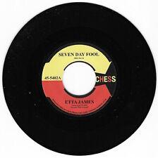 Etta James 'Seven Day Fool ' Re-issue