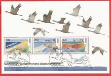 Vorpommersche Boddenlandschaft Naturschutz Bund Block 36 Ersttagssonderstempel