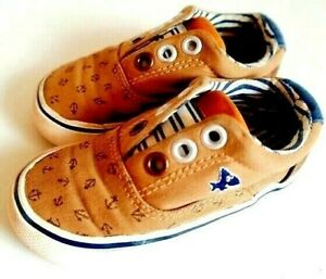 NEXT Baby Boys Girls TRAINERS SHOES - UK5 - VGC - Alphabet Soles - 15/18 Months
