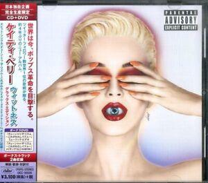 Katy Perry Cd+DVD UICC-90006日本独自限定盤 w/obi 日版 japan press