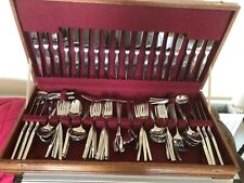 """108 PIECE STAINLESS STEEL CANTEEN OF CUTLERY (SETTING FOR 12) MAKER """"EETRITE"""""""