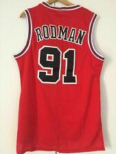 Canotta nba basket Dennis Rodman jersey Chicago Bulls maglia Retro S/M/L/XL/XXL*