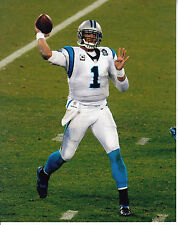 CAM NEWTON 8X10 PHOTO CAROLINA PANTHERS PICTURE NFL FOOTBALL PASSING