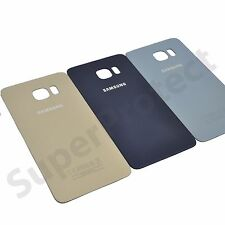 Genuine Samsung Galaxy S6 Edge PLUS SM-G928F Rear Back Battery Cover Glass Panel
