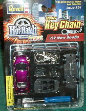 REVELL VOLKSWAGON BEETLE CUSTOM LOWRIDER ASSEMBLY MODEL KIT KEY CHAIN 1/64