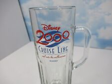 Official Disney Cruise Line Heavy Glass Tall Beer Mug Stein by LIBBEY USA 20floz