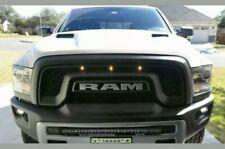 For 2013-2018 Dodge Ram 1500 Rebel Style LED Honeycomb Front Upper Hood Grille