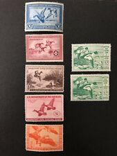 Hunting Permit Stamps Mint