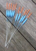 HAND MADE POLE FLOATS 10 FLOATS 50/50 MAD SUMMER PRICES