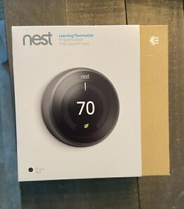 Nest Thermostat 2nd Generation Black