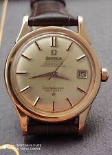 Vintage Omega Constellation Calendar gents watch solid gold 18k - ref. 2943 / 54