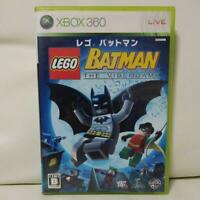 Lego Batman Xbox360 Activision Used Japan Action Game 2008 Boxed Tested Working