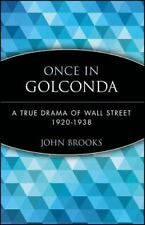 Once in Golconda: A True Drama of Wall Street 1920-1938 (Paperback or Softback)