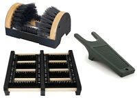 Heavy Duty Boot Puller Welly Boot Mud Scraper Shoe Brush Cleaner Outdoor Mat