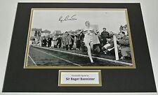 Roger Bannister SIGNED autograph 16x12 photo display Athletics Sports AFTAL COA