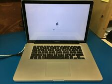 """Apple MacBook Pro 15"""" late 2011 A1286 i7 4Gb RAM unibody DOESNT BOOT"""