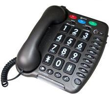 geemarc AmpliPower 40 analog gross Tastentelefon Seniorentelefon schwarz