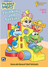 MUPPET BABIES ~THINKING & SORTING~ PC LEARNING GAME