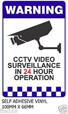 STICKER SECURITY WARNING SELFADHESIVE VINYL PROTECT INFRARED CAMERA SURVEILLANCE