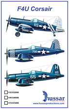 F4U Corsair 1/32 scale 32008 Hussar Productions decals