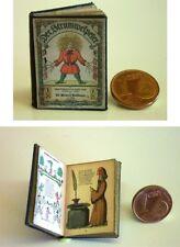 1002# Buch - Struwwelpeter Nostalgieausgabe - Puppenhaus - Puppenstube - M 1zu12