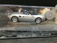 BMW Z8 James bond 007 the world is not enough 1/43 Fabbri