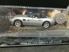 BMW Z8 James bond 007 the world is not enough 1/43 Fabbri