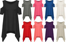 Viscose Short Sleeve Solid Pattern T-Shirts for Women