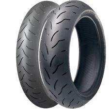Bridgestone BT016 Pro Motorcycle Bike Tyres 190/55zr17 & 120/70zr17 Pair Deal