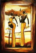 Abstrakte künstlerische Öl-Malerei auf Leinwand direkt vom Künstler