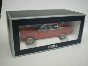 NOREV 183714 MERCEDES BENZ W123 diecast model car Signal red Ltd Edition 1:18th