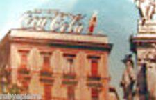SCAC cartolina postcard BEVETE COCA COLA neon pubblicitario vintage 1969 card