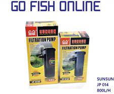 Sunsun JP-014F - Internal filter for aquriums up to 80L Au plug Fish tank filter