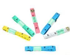 1.5M TAPE MEASURE SEWING TAILOR FABRIC MEASURING TAPES RULER SOFT FLAT 2 pcs