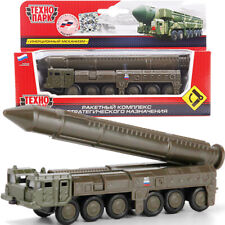 RT-2PM2 Topol M Intercontinental Ballistic Missile Diecast Model Car Scale 1:150