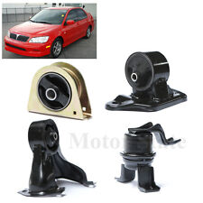 For 02-07 Mitsubishi Lancer 2.0L N/A Model AT Trans Engine Motor Mounts Kit