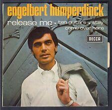 ENGELBERT HUMPERDINCK 45T EP Biem DECCA 457.140 Release me NEUF MINT + Languette