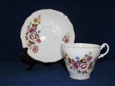 Royal Ascot Fine English Bone China Tea Cup & Saucer Set (RAS11) FLORAL  CS7