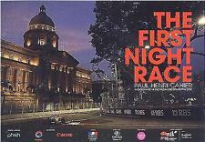 F1 1st Night Race Grand Prix ZoCard Paul Henri Singapore 2008 Postcard