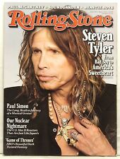 ROLLING STONE MAGAZINE ISSUE 1130 STEVEN TYLER AEROSMITH PAUL SIMON MAY 12 2011!