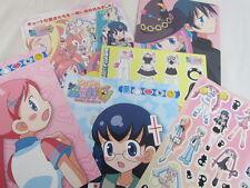 DOKI DOKI MAJO SHINPAN Doki Chira Fanbook w/Freegifts Type A Art Book Japan