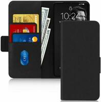 New Samsung Galaxy S20 Ultra Case Genuine Leather RFID Blocking Wallet Flip Case