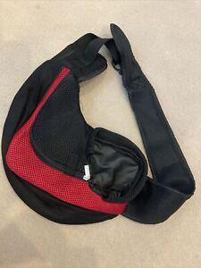 Pet Dog Cat Puppy Carrier Comfort Tote Shoulder Travel Bag Sling Backpack -UK
